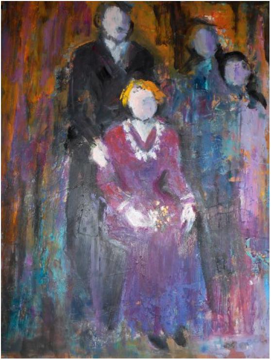 Un ritratto dalla Mostra Visioni di Maria Teresa Pascarelli