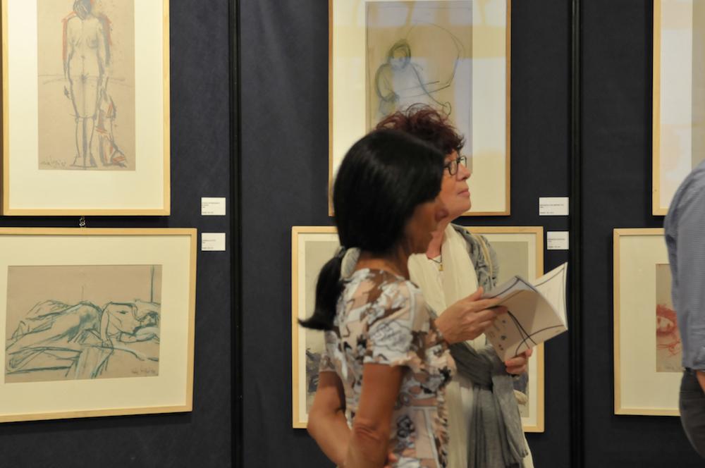 La mostra del 2015 alla Pinacoteca di Varallo Sesia