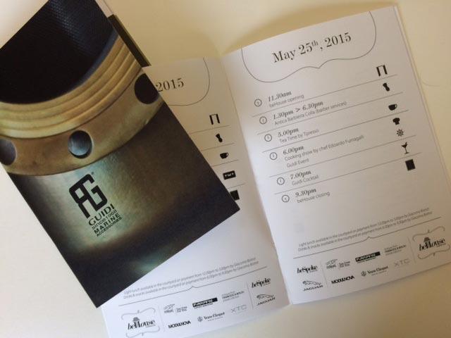 Calendario BeHouse e prima pagina BeSpoke