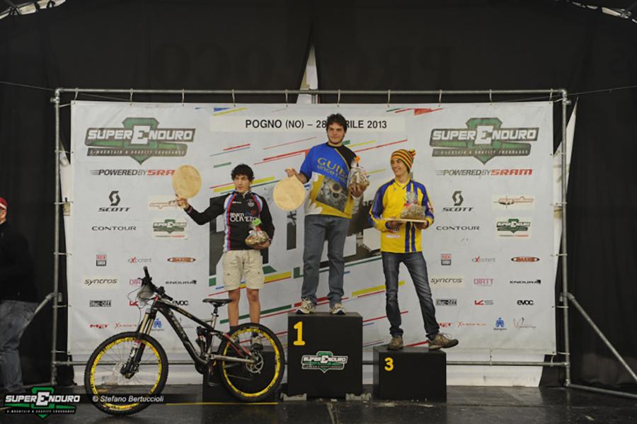 Diego Segat 1° classificato categoria SE2
