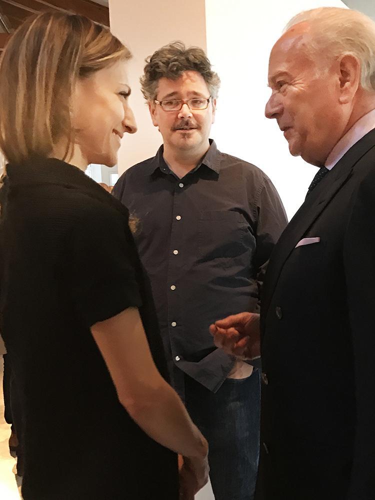 Anna Krekic, Chris Gilmour, Bruno Guidi