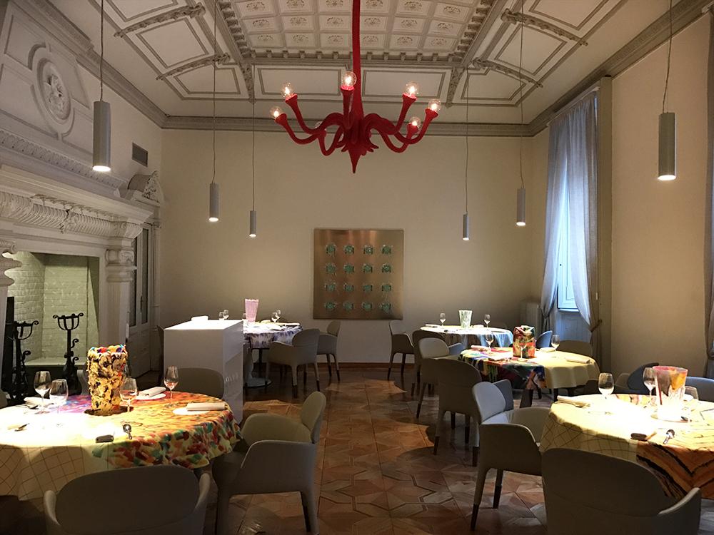 La sala. Murano 5.0 Silicone Experience