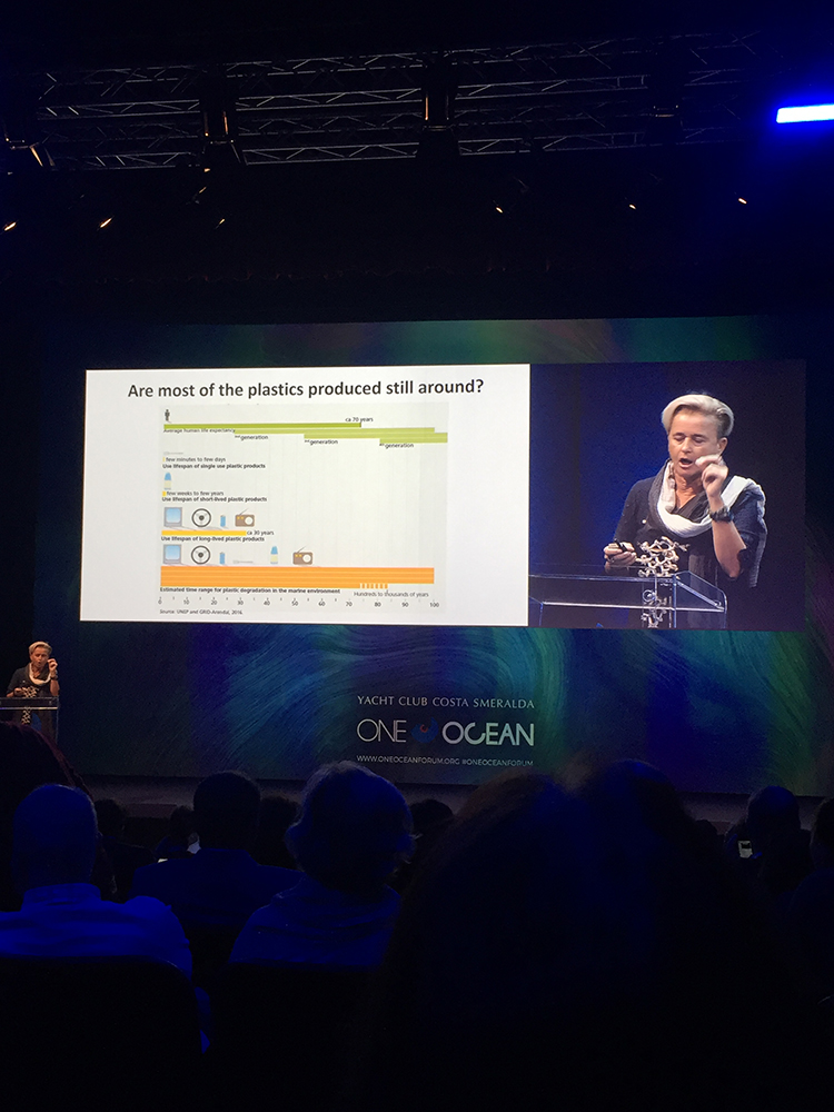 One Ocean Forum - Are the most of the plastic produced still around?