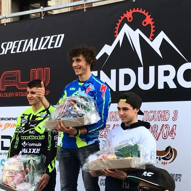 Filippo Masotti 3° posto di categoria