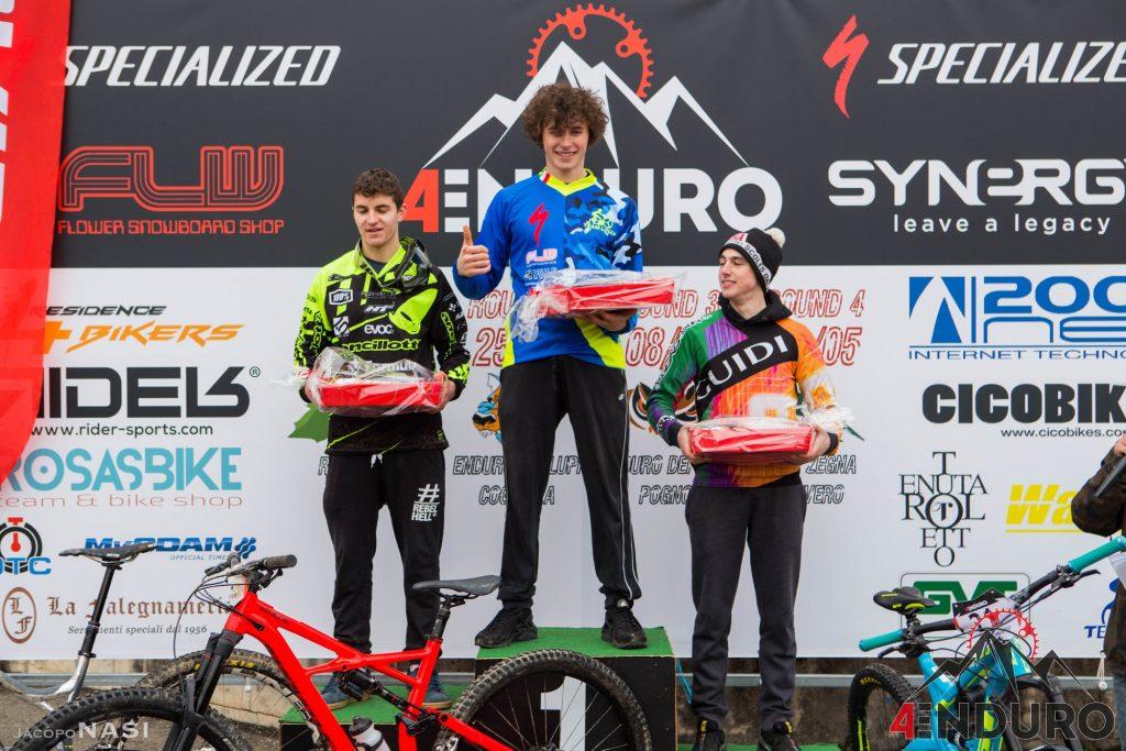 Filippo Masotti sul podio