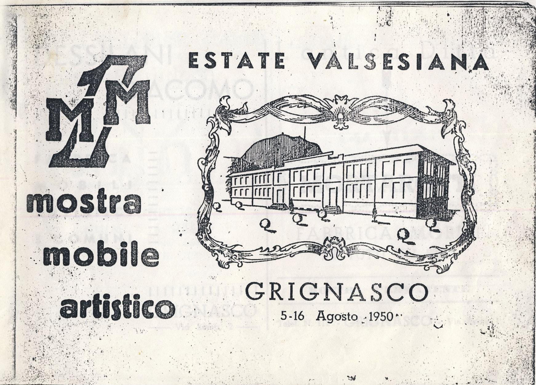Mostra del Mobile 1950