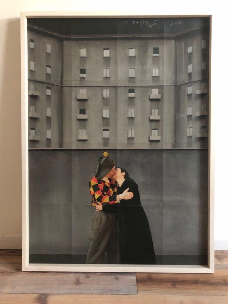 Paolo Ventura - Il Bacio n° 6