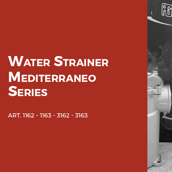 Water strainer Mediterraneo series